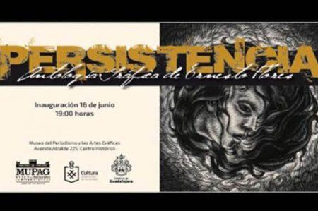 Museo en Guadalajara exhibe antología gráfica de Ernesto Flores