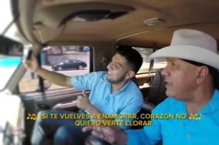 Lupe Esparza de Bronco ahora es conductor de Uber