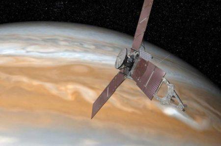 'Juno' envió las primeras imágenes de Júpiter