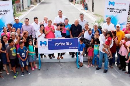 Con más obras de infraestructura, proyecta Lety Salazar a Matamoros como una tierra de progreso