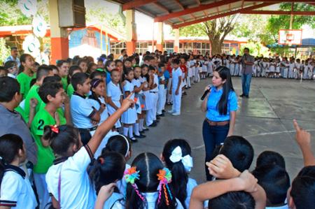 Invierte Lety Salazar mas de 5 millones de pesos en mas obras de infraestructura pública y educativa