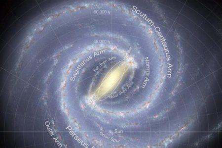 Cumple 10 mil millones de años la Vía Láctea