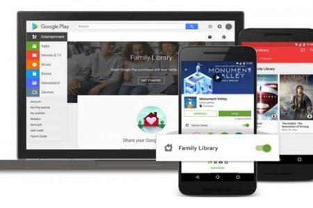 Google Play Family llega a México