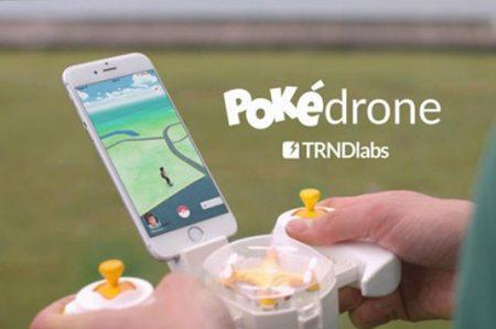 'Pokedrone' facilita la búsqueda de pokemones