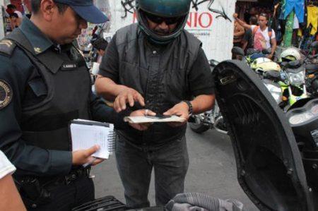 Sancionan a 64 mil motociclistas por faltas al reglamento de tránsito