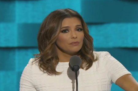 Eva Longoria defiende a latinos y dedica palabras a Trump
