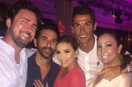 Eva Longoria y Cristiano Ronaldo se encuentran en Ibiza