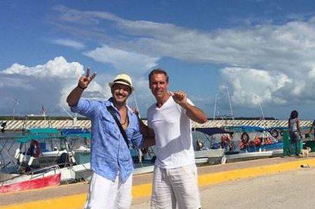 Fernando del Solar visita a Raúl Osorio
