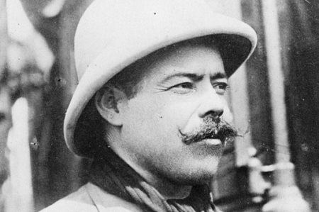Con marcha conmemoran la muerte de Francisco Villa