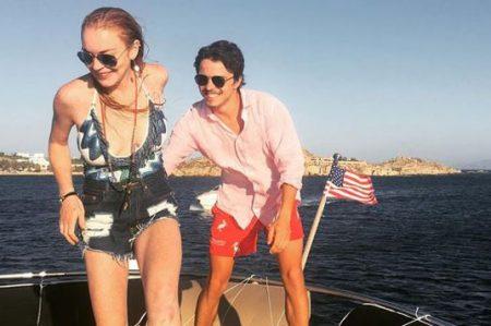Lindsay Lohan y su pareja se dan un tiempo