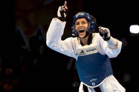 'Mano negra' en taekwondo