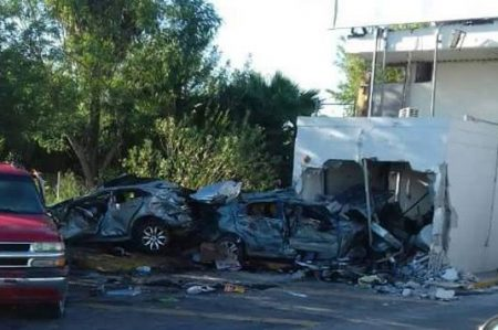 Evalúan daños en caseta de Camargo