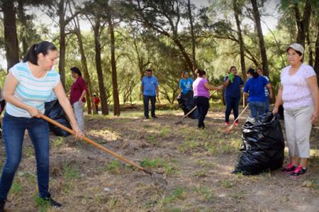 A través del programa 'Transformando Matamoros' Lety Salazar constituye una ciudad más limpia