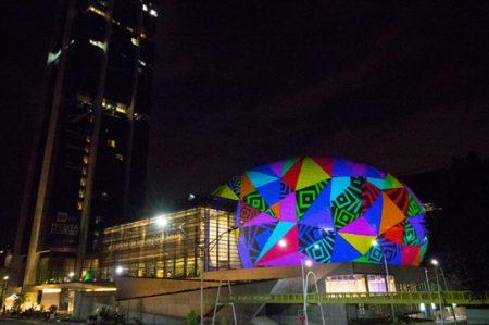 Auditorio Pabellón M iluminará de color noches de Monterrey