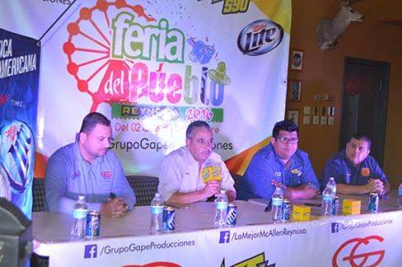 Alistan detalles para la feria del Pueblo Reynosa 2016