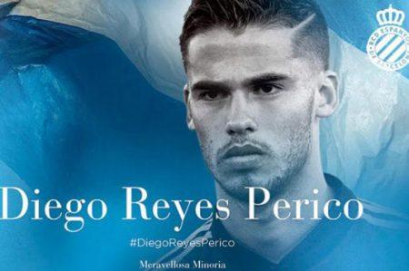 Diego Reyes llega al Espanyol de Barcelona