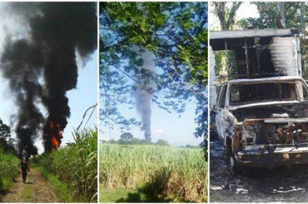Explota ducto de Pemex en Veracruz; no hay lesionados