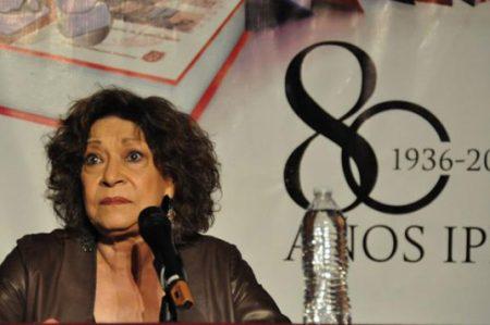 Instituto Politécnico Nacional rinde homenaje a Cristina Pacheco