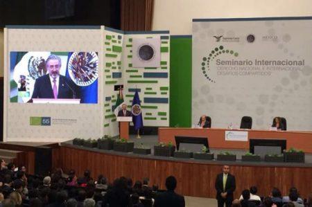 Ministro Aguilar llama a construir credibilidad en instituciones