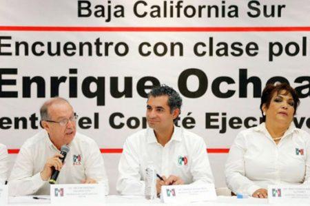 Ochoa se reúne con militantes del PRI en Baja California Sur