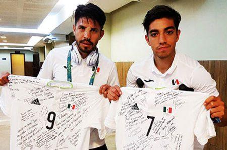 Oribe Peralta y Rodolfo Pizarro llegan a México