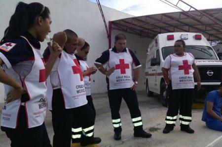 Paramédicos de Cruz Roja se inconforman con la nueva coordinadora de socorros