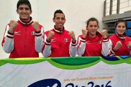 Selección olímpica de Taekwondo ya entrena en Brasil