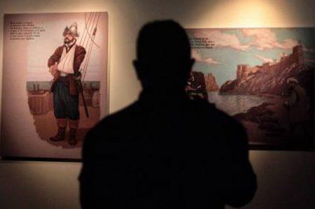 Un viaje por la vida de Cervantes a través del cómic
