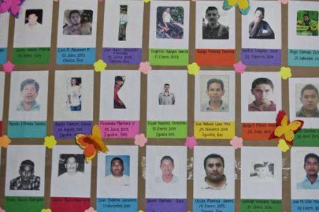 Urgen a reconocer que hay desaparición forzada en México