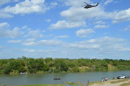Menor americano se ahoga en las caudalosas aguas del río Bravo