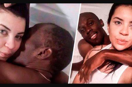 Bolt en escándalo sexual con la viuda de un criminal y una bailarina