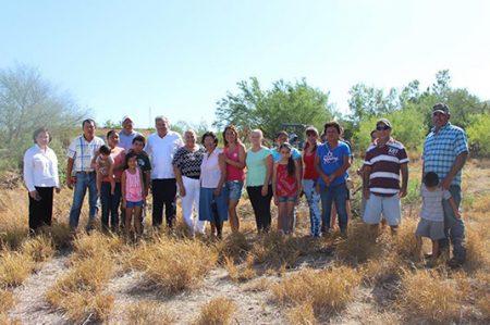 Construirán plaza pública en el poblado El Azúcar de Camargo