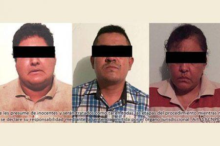 Gendarmería libera a una persona y asegura a tres personas implicadas en Madero