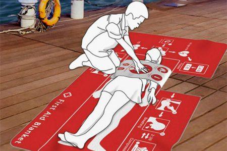 "La manta de Yoga que ""salva"" vidas"
