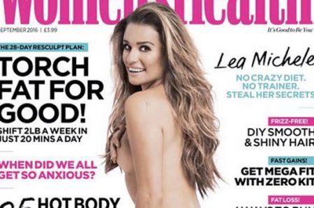 Lea Michele se desnuda en revista
