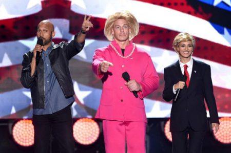 La política, presente en los 'Teen Choice Awards'