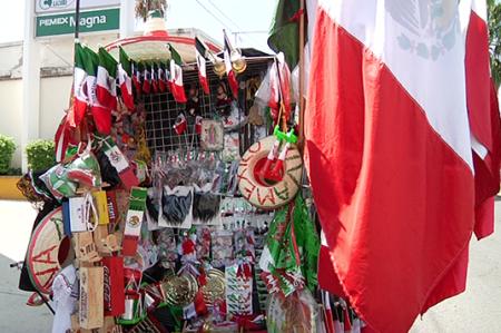Comerciantes 'esperanzados' con las fiestas patrias