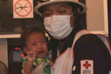 Bebé abandonado es reclamado por familiares