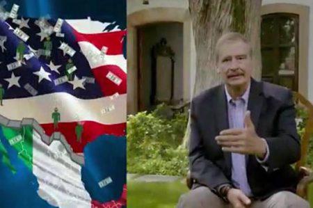 """Agrada en redes participación de Vicente Fox con """"Fox NIUS"""""""