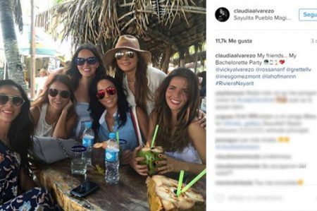 Claudia Álvarez y su despedida de soltera en Riviera Nayarit
