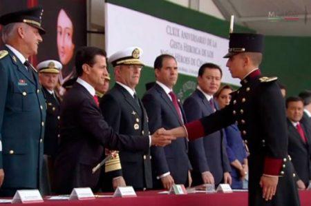 EPN recuerda la gesta heroica de los Niños Héroes
