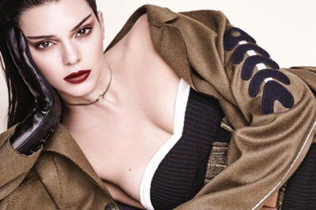 Kendall Jenner fue captada en comprometedora pose