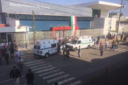 Captan video de disparos en interior de la Fiscalía de Jalisco