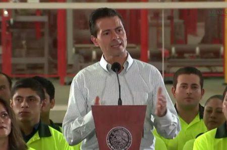 Peña defiende propuesta de presupuesto 2017
