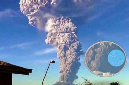 Extraterrestres advierten que habrá una explosión volcánica