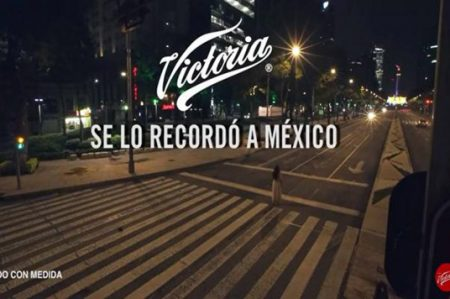 Video de niña fantasma en Reforma, parte de campaña publicitaria