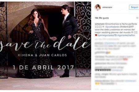 Ximena Navarrete revela fecha de su boda