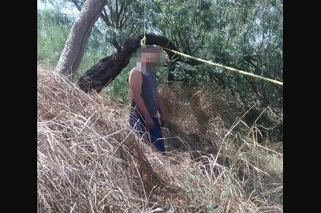 Encuentran a hombre ahorcado en Hacienda Las Fuentes