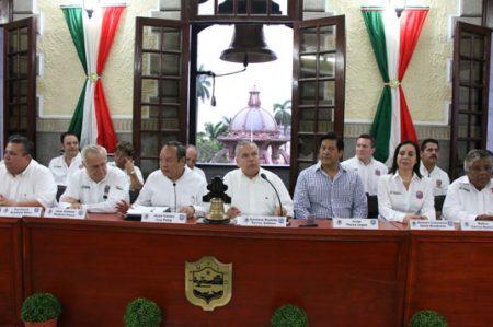 Aprobó  cabildo de Tampico cumplimiento del Plan Municipal de Desarrollo