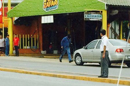 Hombres armados y encapuchados provocan terror en calles de Tampico